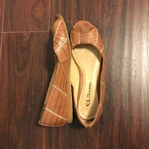 Chinese Laundry Peep-Toe Flat